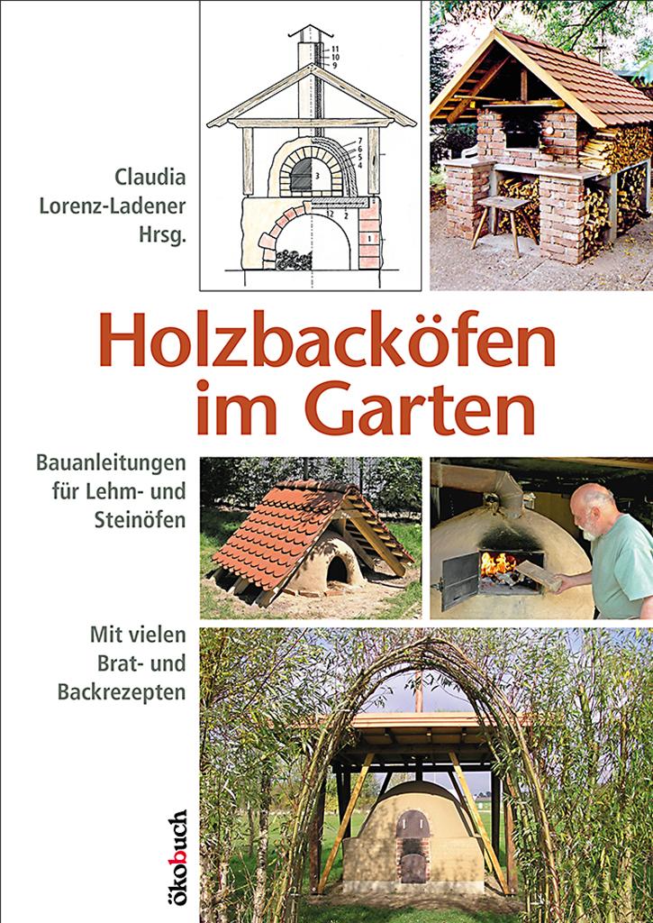 Holzbackoefen im Garten