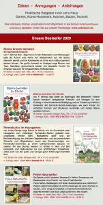 Bildschirmfoto eines Newsletters des ökobuch Verlags